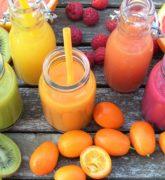 Jugos de frutas para bajar de peso y tener el abdomen plano