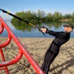 Como fortalecer las piernas con TRX